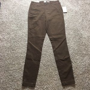 A New Day Skinny High Rise Brown Pant